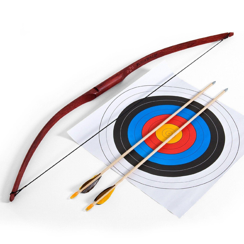 best deals on 2018 sneakers online store Elbenwald Archery Set für Beginners - Bow & 2 Arrows ...