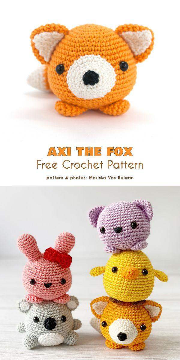 Little Fox Free Crochet Patterns