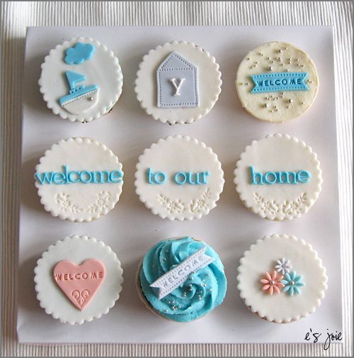Housewarming Cupcakes Order | Cake, Bakery ideas and Themed cupcakes