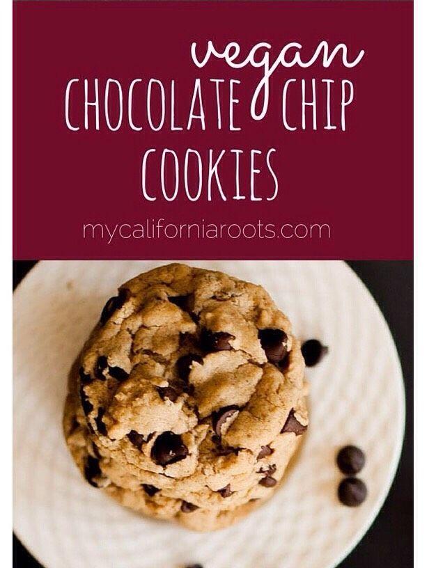 Vegan Chocolate Chip Cookies! #Food #Drink #Musely #Tip