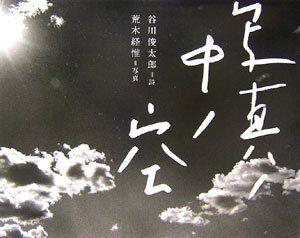 写真ノ中ノ空 谷川 俊太郎, http://www.amazon.co.jp/dp/4861930693/ref=cm_sw_r_pi_dp_YEaGrb0Y70YYS  /// I have this book.