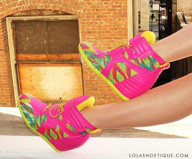 Wedge sneakers.  My dream shoes ;)