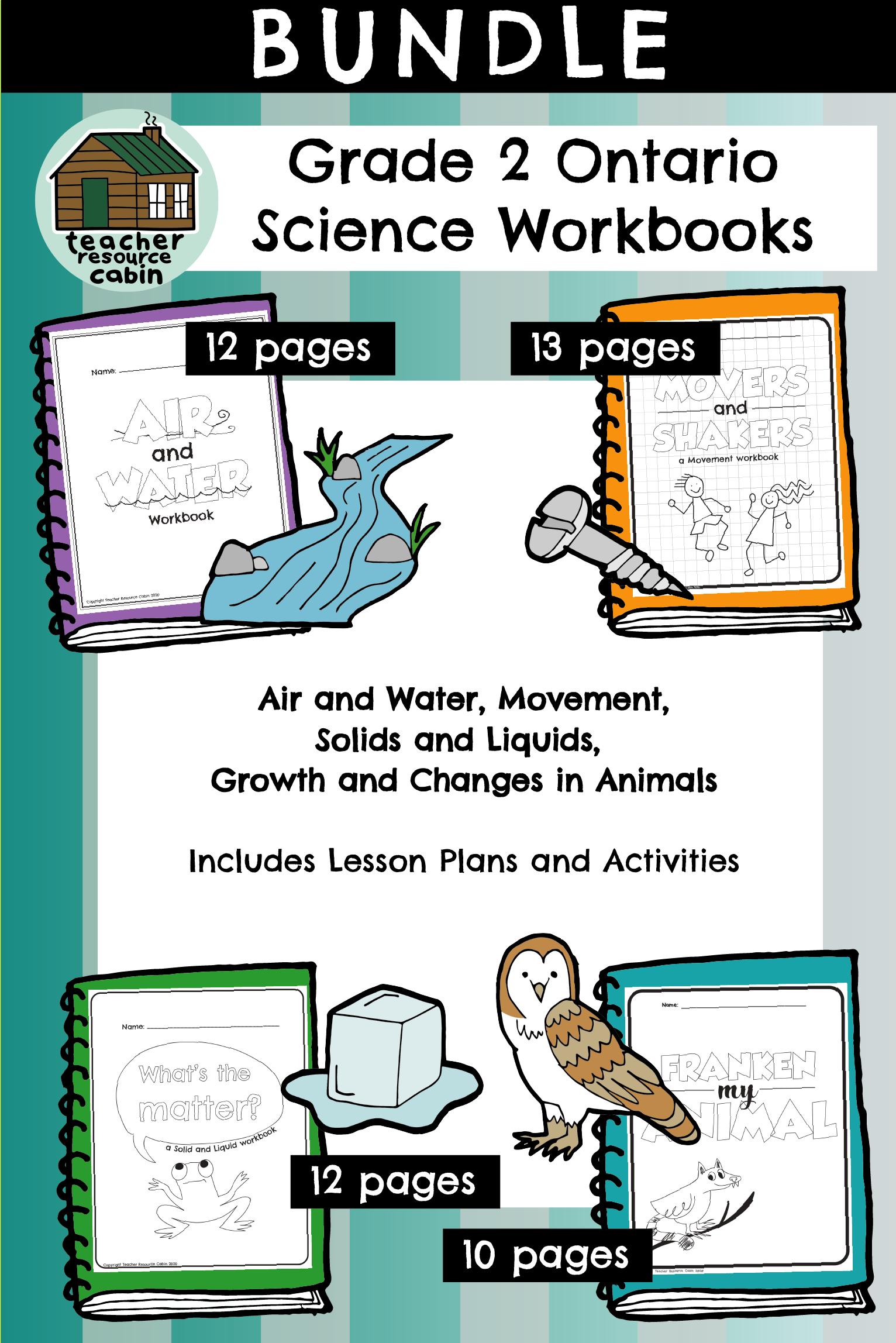 Ontario Science Workbooks [Grade 2]