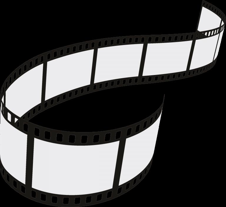 Film Strip 4 Roll Set Vector Download Vector Film Strip Camera Tattoo Film Reels