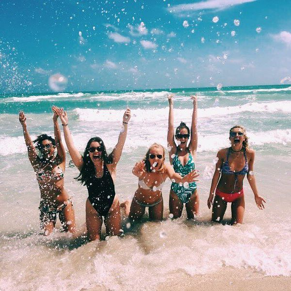 Celebrating the weekend and the fact that we're back together in just {one} month!! 🌞 #FSUChiO #SundayFunday