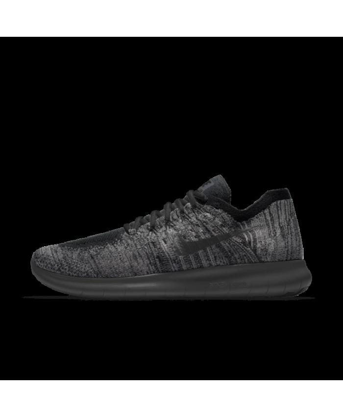 146c686f2acf4 Nike Free RN Flyknit iD Black Mens Shoe | Nike Free RN Mens Shoe ...