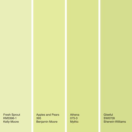 Spring Green Is A Fresh Mix Of Yellow And Stick To Light Medium Shades For Jolt Color That Still Has Soft Quality It