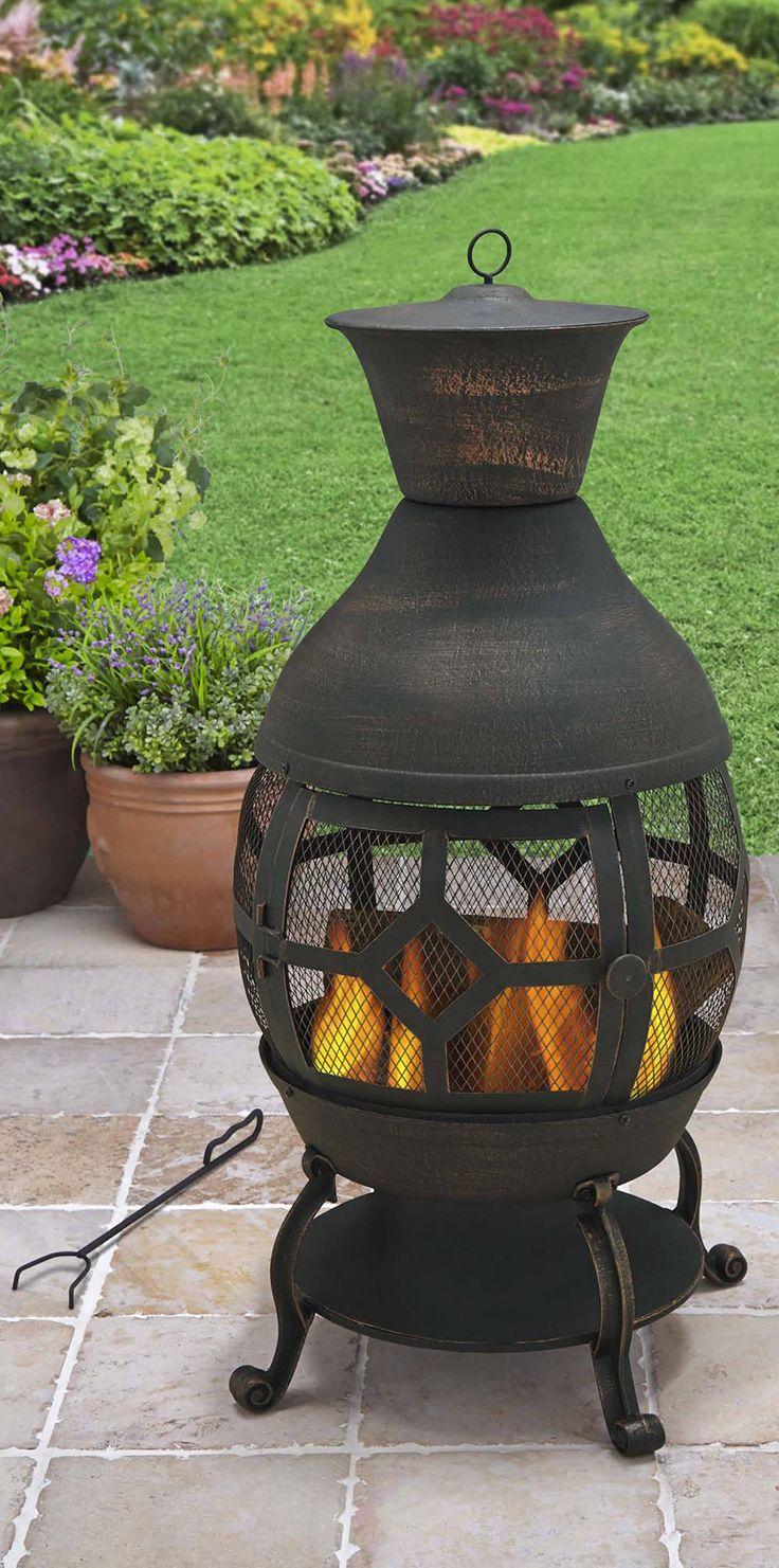 Patio & Garden Garden fire pit, Outdoor, Better homes