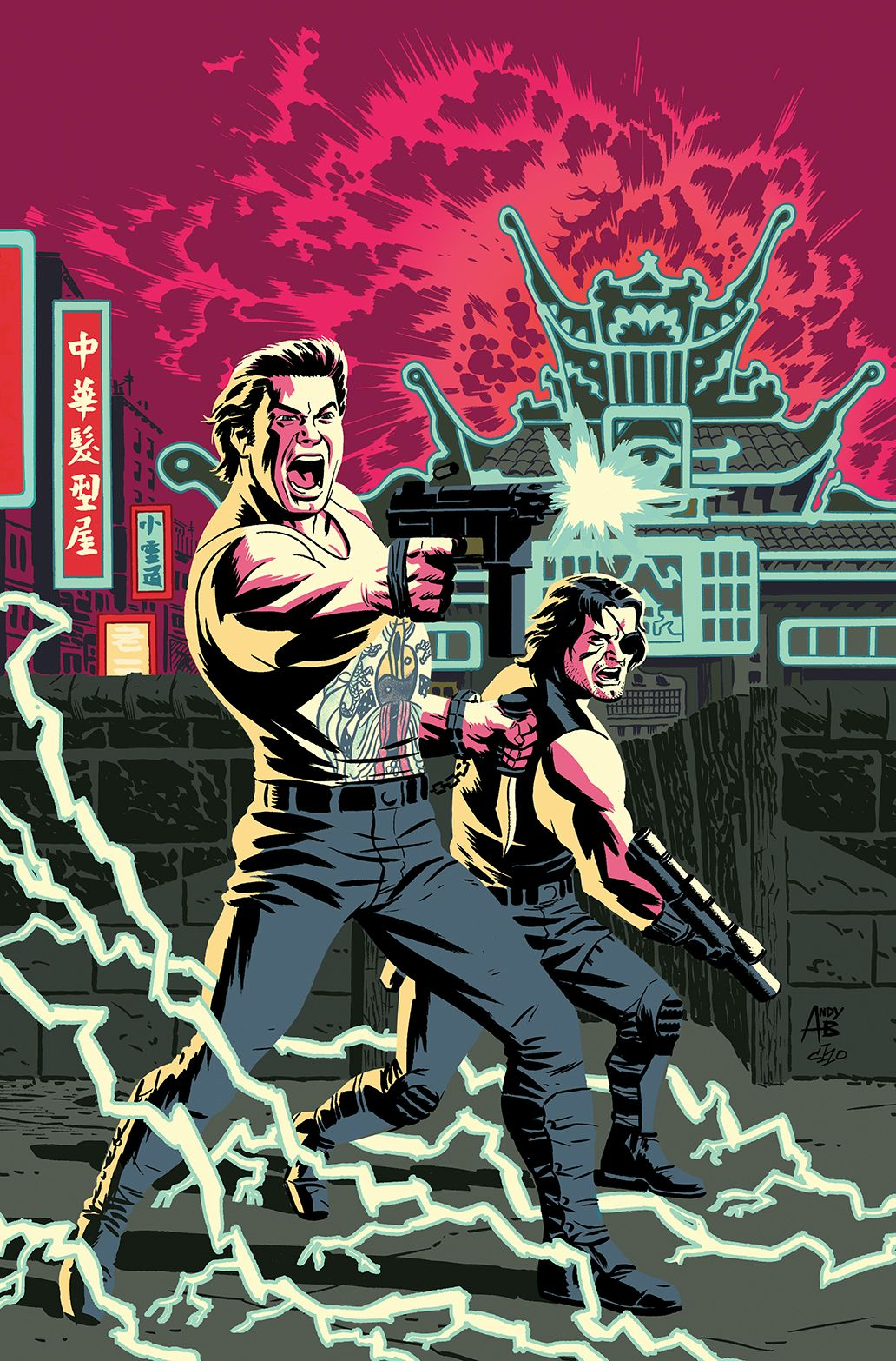 Big Trouble In Little China Escape From New York 01 Comic Covers