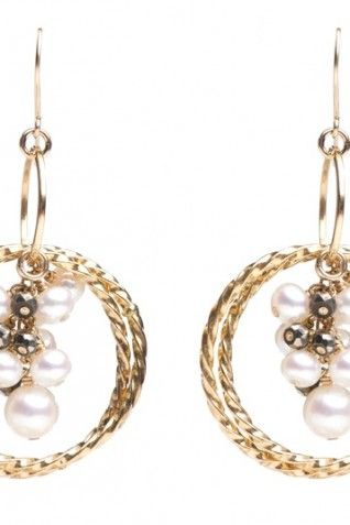 CHARME SILKINER Luisa Earrings 36% off - $90