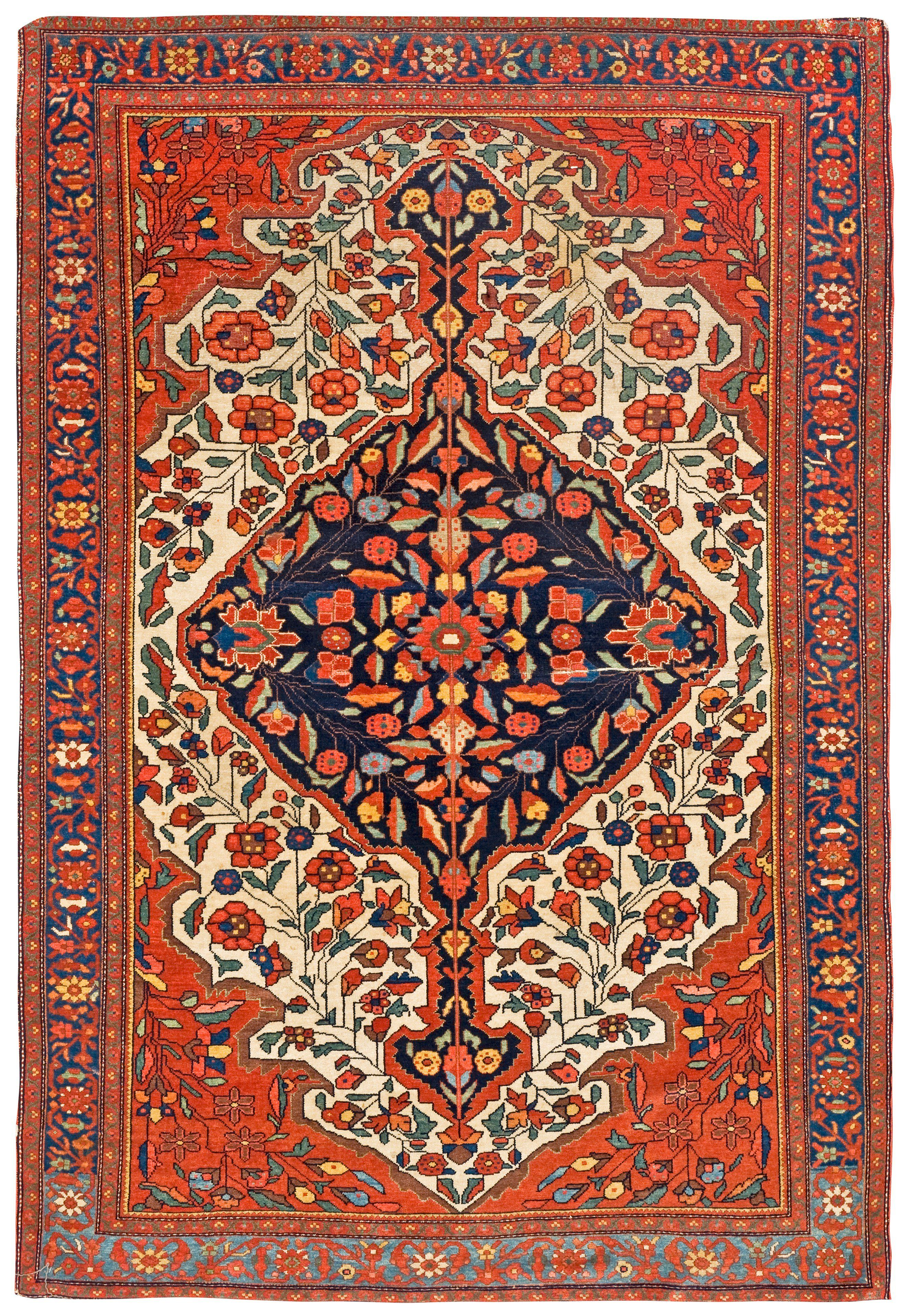 Persian Fereghan Sarouk Rug In 2019 Iranian Rugs Rugs
