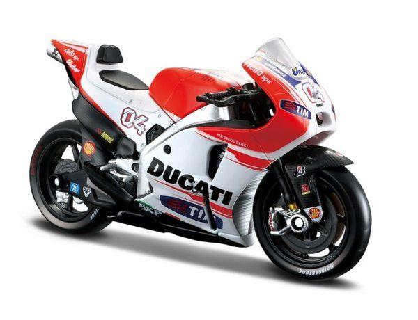 1:12 #29 Motorrad Motorbike Moto NewRay Ducati Andrea Iannone MotoGP 2015