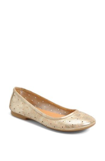 Kork-Ease™ 'Nessa' Flat | Nordstrom -- Like the gold, but they come in orange too.