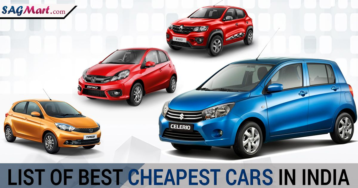 List of Best Cheapest Cars in India With Price Cheap