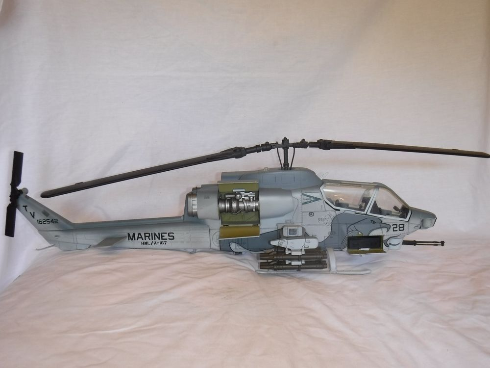 21st Century Toys 1 18 Ah 1w Super Cobra Usmc Helicopter Buying