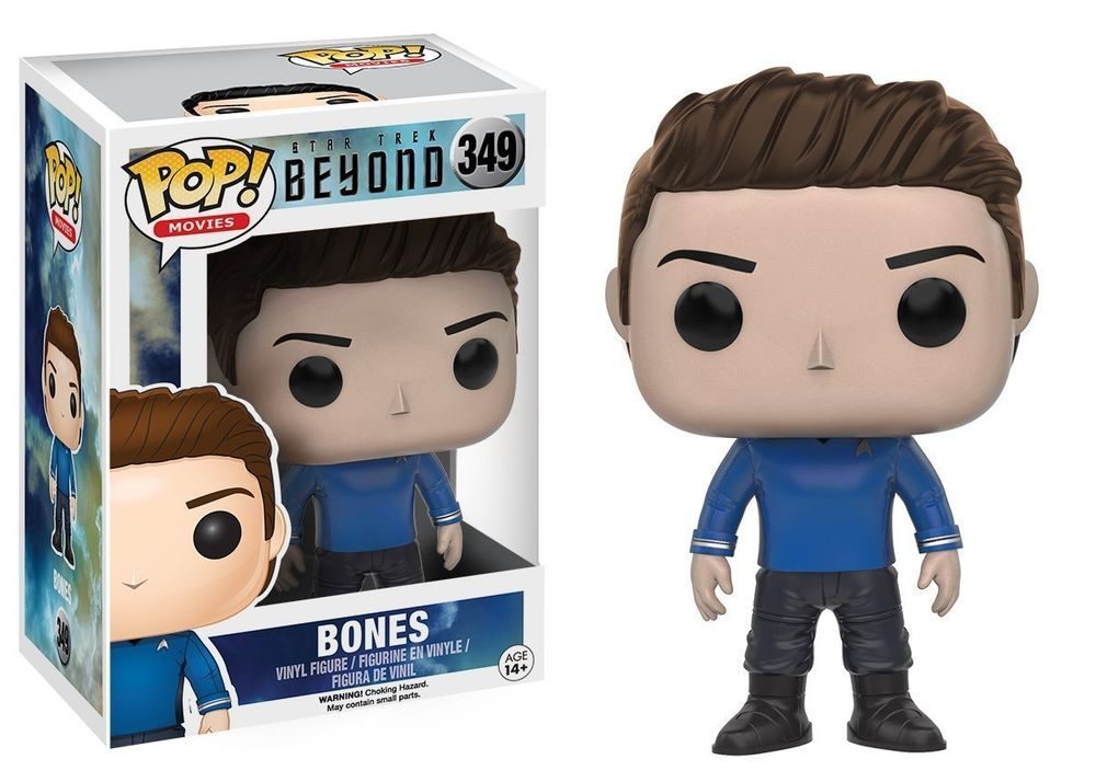 FUNKO POP Movies Star Trek Beyond BONES #349 Vinyl Figure