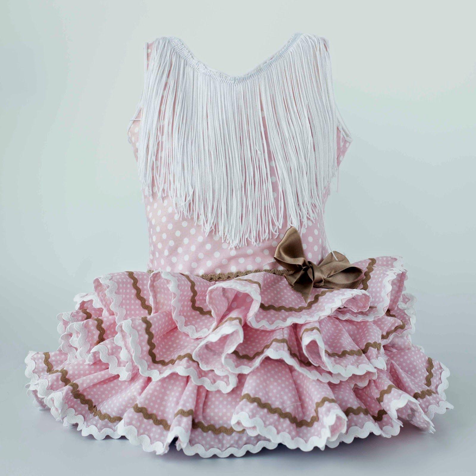 7d430cbb1 Traje flamenca para niña de 2 años . Con bragitas compañeras ...