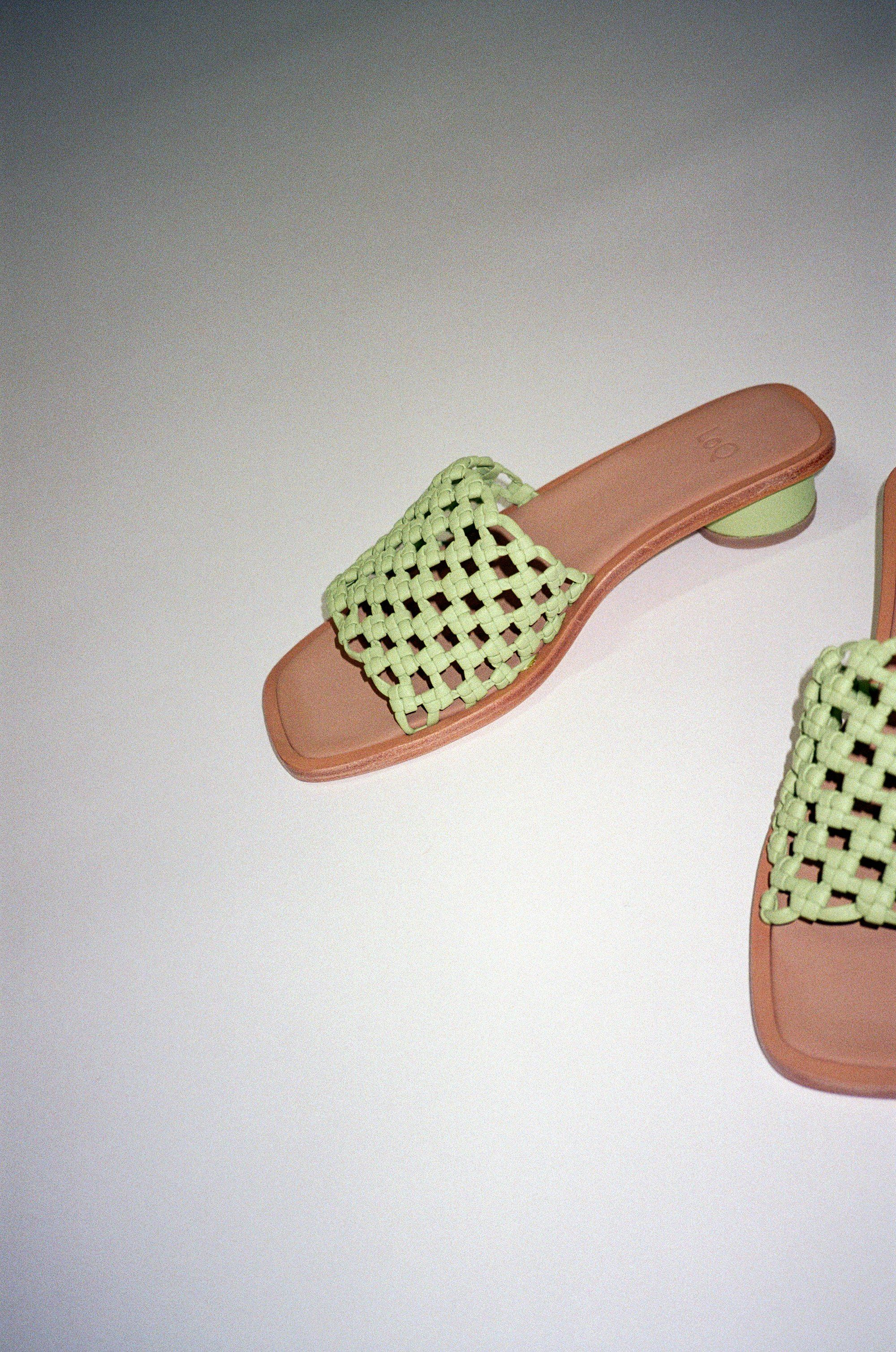Simona Sandal Pomelo | Black leather shoes, Sandals