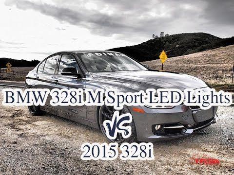 2016 Bmw 328i M Sport Led Lights Vs 2015 328i Track Handling