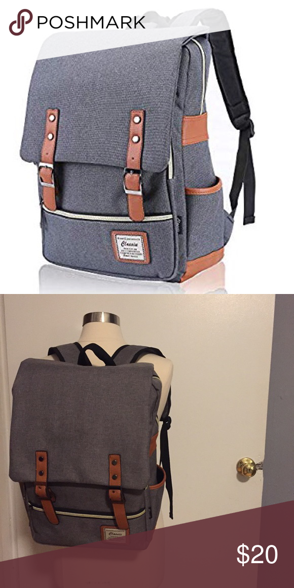 Classic Backpack Very roomy backpack with multiple exterior and interior  pockets. One on each side 78eeafc18b378
