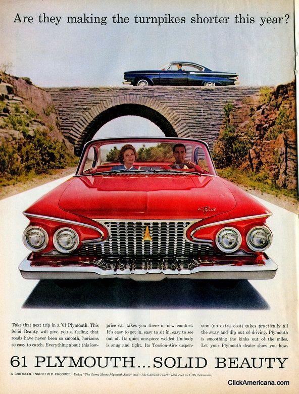 Classic American car ads from 1961 – Click Americana