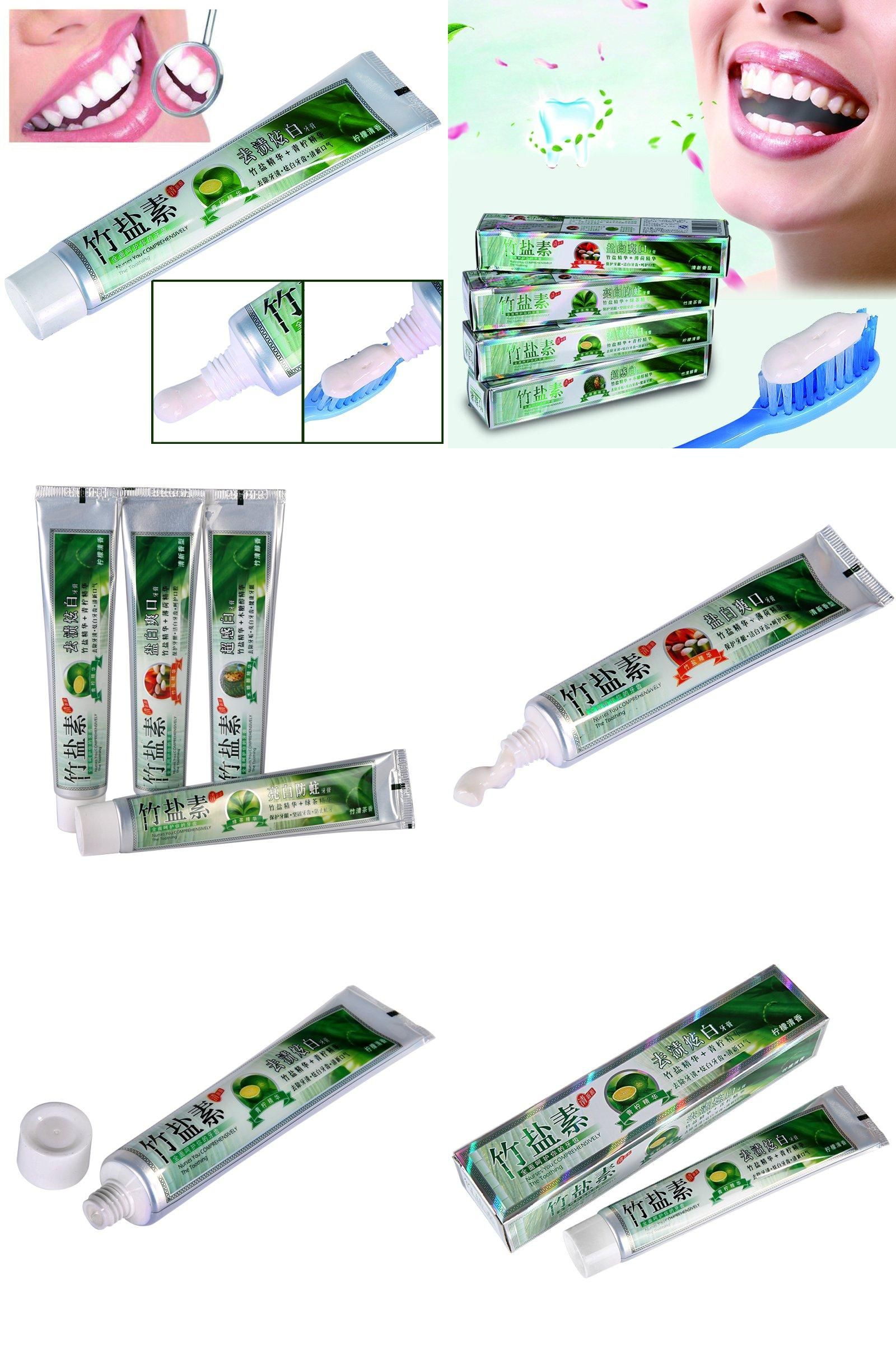 Visit To Buy Natural Activated Bamboo Charcoal Salt Toothpaste