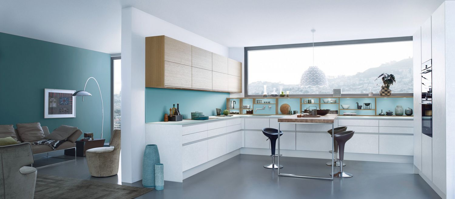 BLUE › Les Couleurs® Le Corbusier › News › Kitchen | LEICHT – Modern ...
