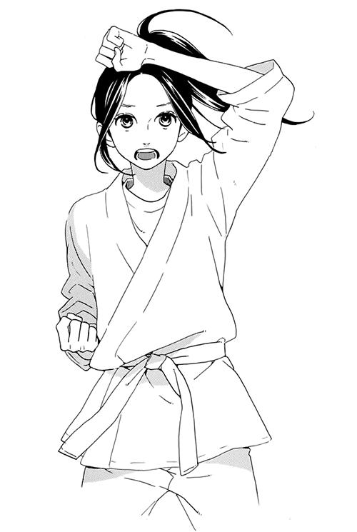 Hirunaka No Ryuusei Karate Girl Taekwondo Girl Karate