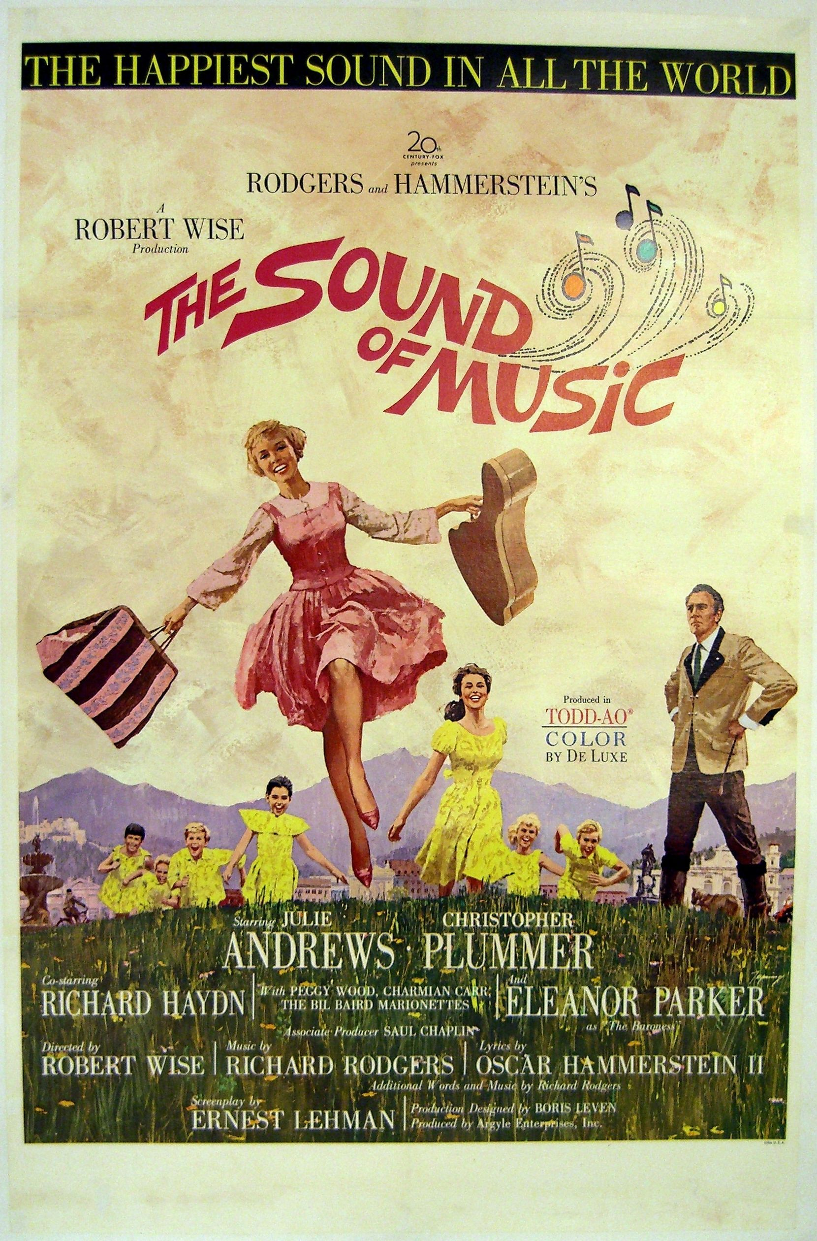 The Sound of Music - the movie, + the soundtrack (on vinyl ...