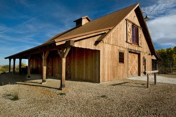 Garage And Shed barn workshop Design Ideas, Pictures, Remodel and ...