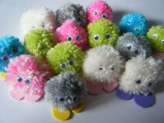 Pack of 5 Quiet Critters / Pom Pom Monsters - great for party bag fillers/teachers/rewards #quietcritters Pack of 5 Quiet Critters / Pom Pom Monsters  great by serenityyou, £1.02 #quietcritters Pack of 5 Quiet Critters / Pom Pom Monsters - great for party bag fillers/teachers/rewards #quietcritters Pack of 5 Quiet Critters / Pom Pom Monsters  great by serenityyou, £1.02 #quietcritters