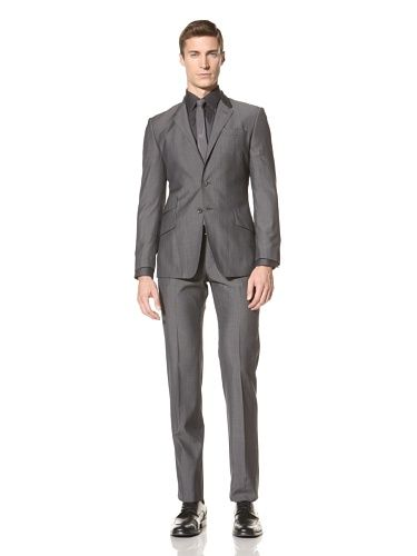 60% OFF Paul Smith Men's Stripe Suit (Gray with Stripes)
