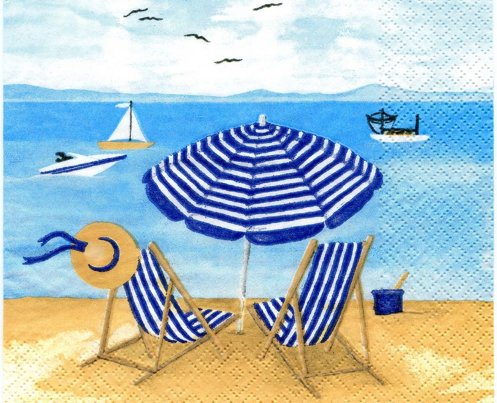 nautica beach chairs and umbrella chair mis laminas para decoupage es facil y