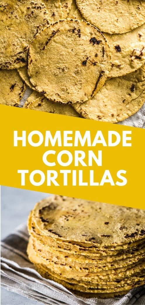 Easy Homemade Corn Tortillas Everything you need to know about how to make corn tortillas at home! Ingredients you need, step-by-step process from start to finish and how to keep them warm. They're easy to make and perfect for taco night!