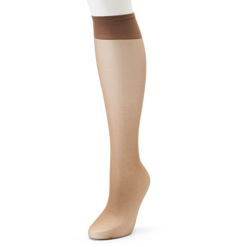 6580d9446f9 Berkshire Queen All Day Sheer Sandalfoot Knee-High Panty Hose ...