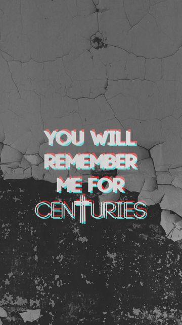 My Lockscreens Fall Out Boys / Centuries Fall out boy