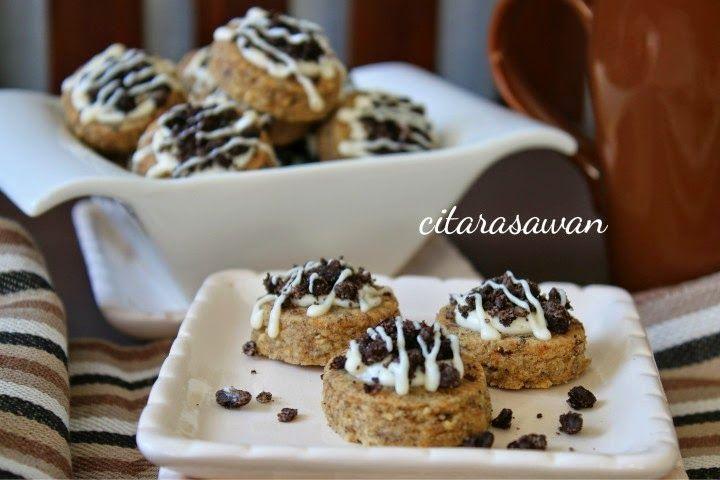 Biskut Crunchy Oreo / Oreo Crunchy Cookies ~ Resepi Terbaik