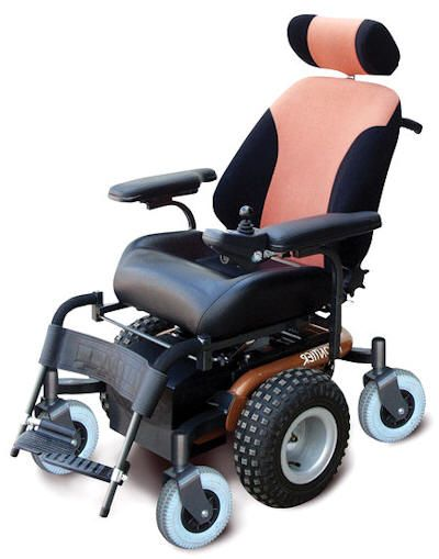 Frontier X5 All Terrain Powerchair PWR Wheelchairs and