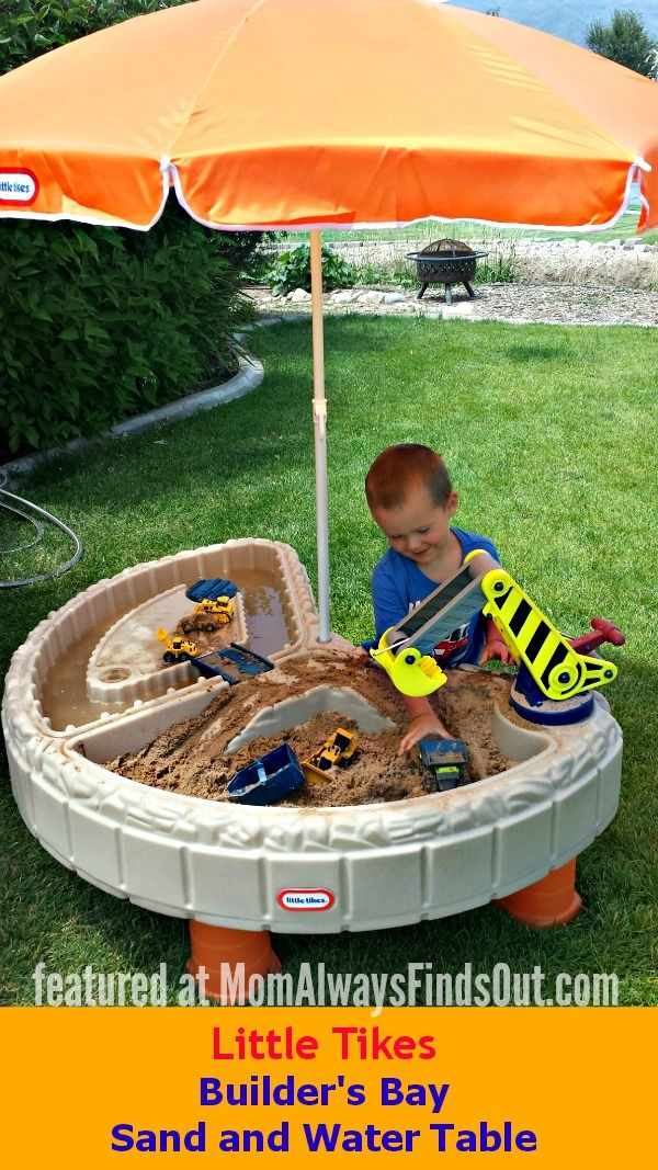 Little Tikes Sand and Water Table Review. Best outdoor activity ...