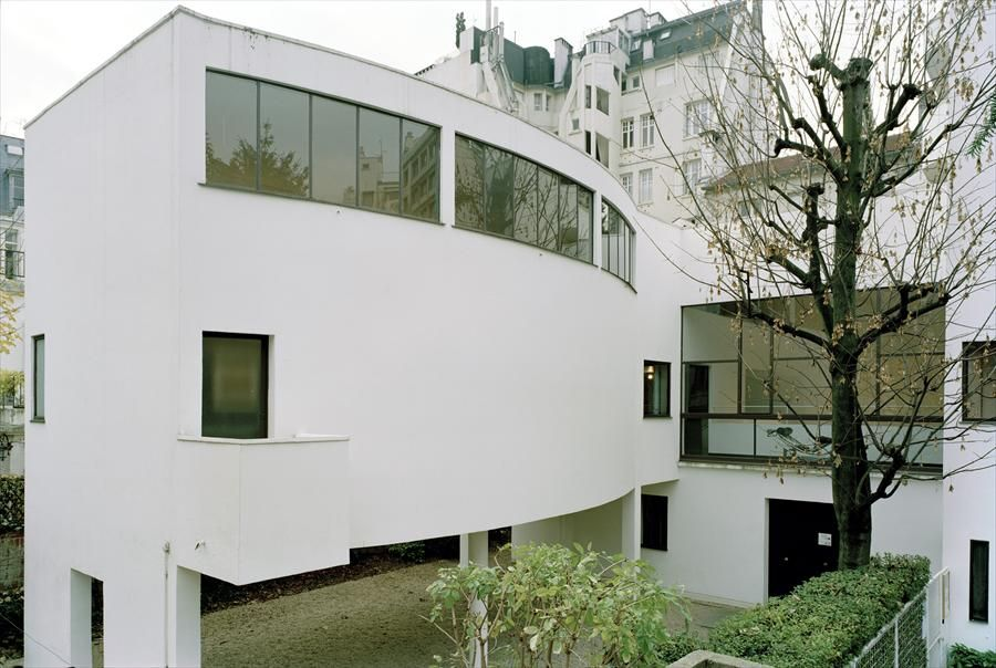 Fondation le corbusier maison la roche visites de la for Architettura ville moderne