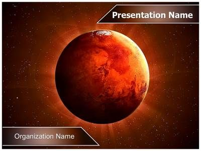 planet mars powerpoint template is one of the best powerpoint, Powerpoint templates