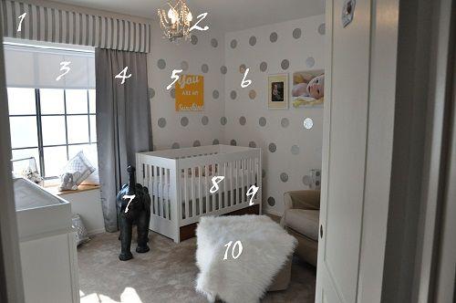 babykamer ideeen verduisterende gordijnen babykamer