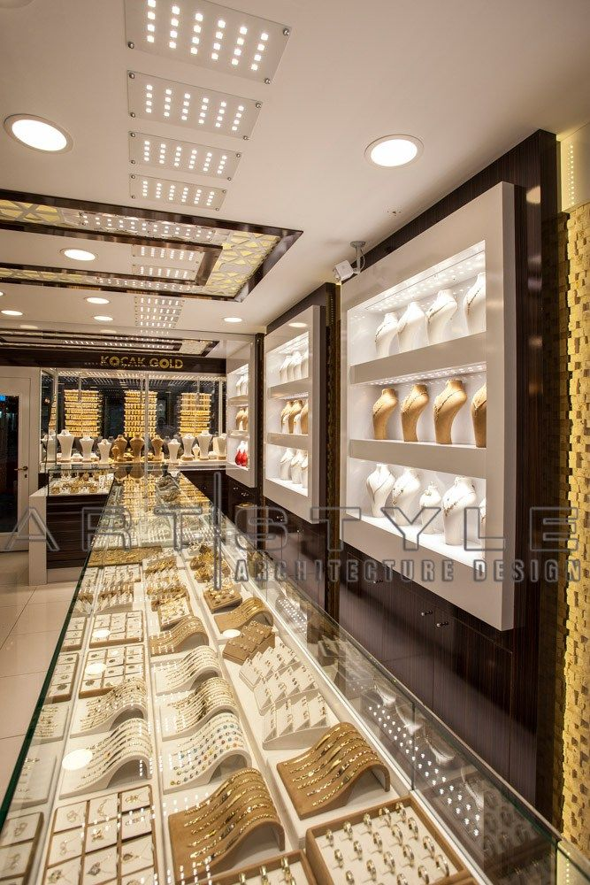 Adem Kuyumculuk Kuyumcu Dekorasyon With Images Jewellery Shop