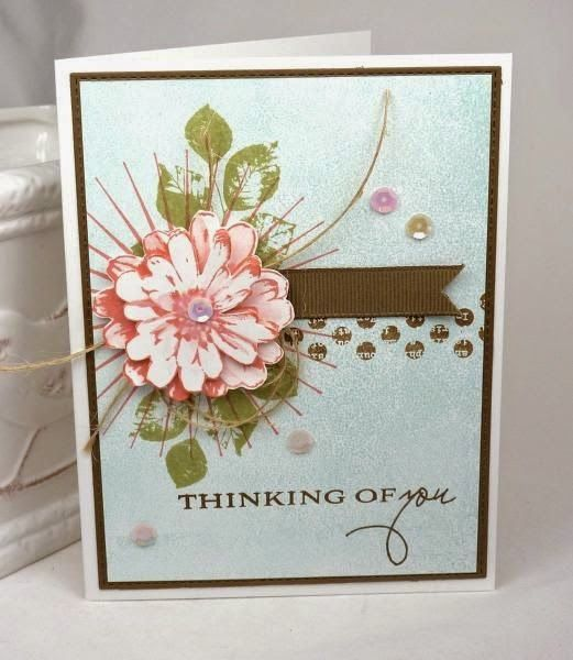 thinking of you card by Eva Fults