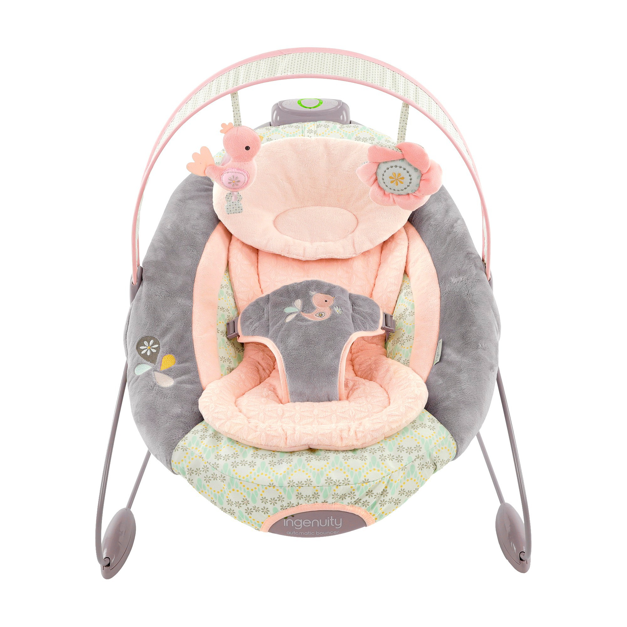 Ingenuity Smartbounce Automatic Bouncer Piper Pink Products