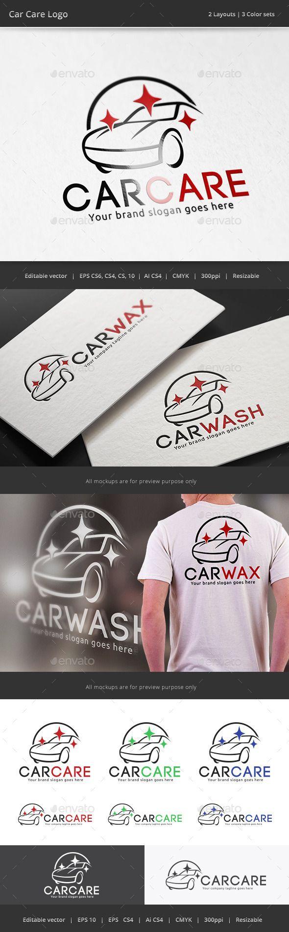 Car Body Sticker Design Eps - Car care logo vector eps auto maintenance available here https