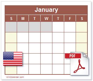 Free  Us Calendar Pdf  Printable Calendar  Planning Ahead