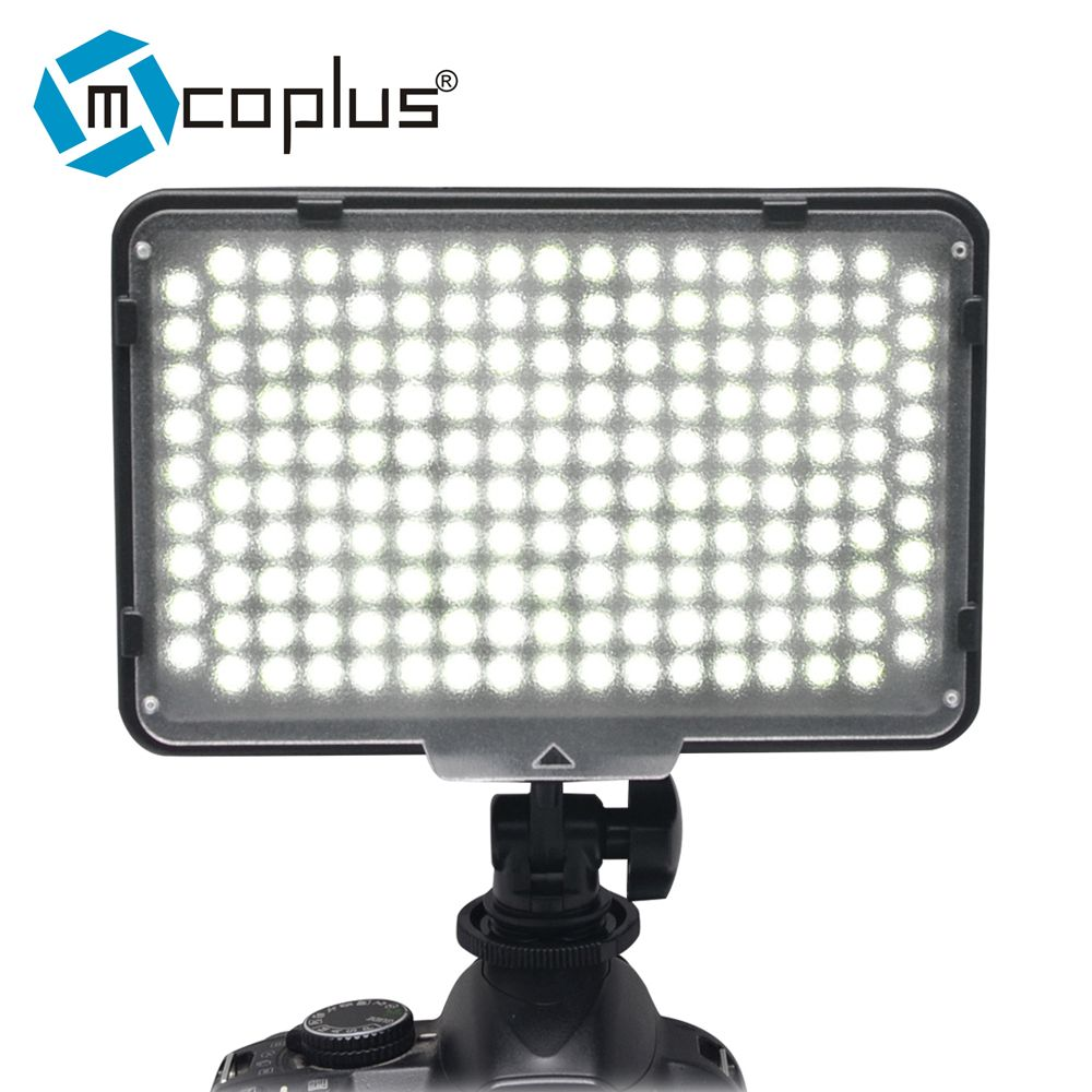 Mcoplus LED-168 LED Video lamp Photography Light for Canon Nikon ... for emergency lamp panasonic  557ylc