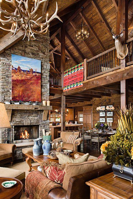 30 Dreamy Cabin Interior Designs Cabin Interior Design