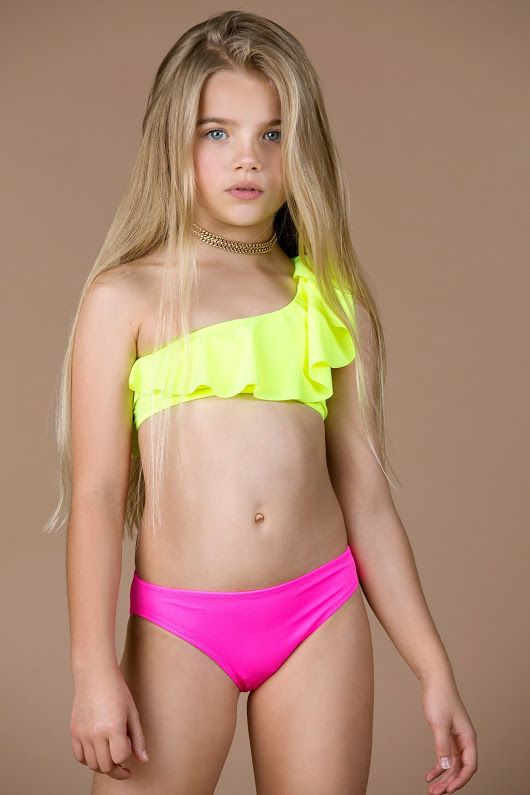 Have hit Young teen girl swimsuit model words... super